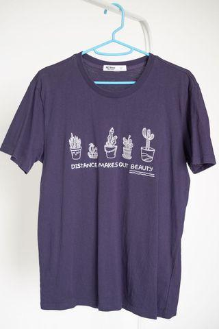 Men's T-Shirt Embroidery Top