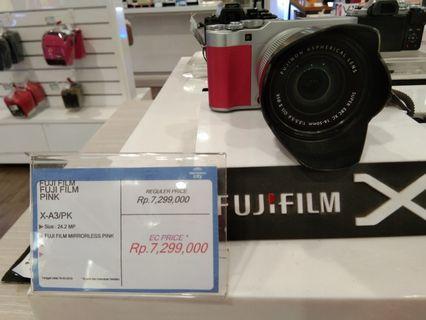 Fuji Film X-A3 Bisa Cicilan Tanpa Kartu Kredit