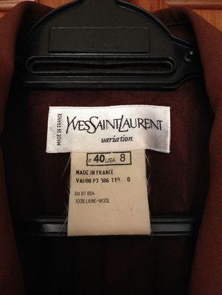 Authentic YSL blazer