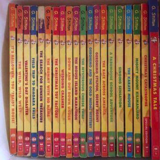 Preloved Geronimo Stilton Books