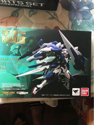 Metal Build OO Gundam 7劍補件
