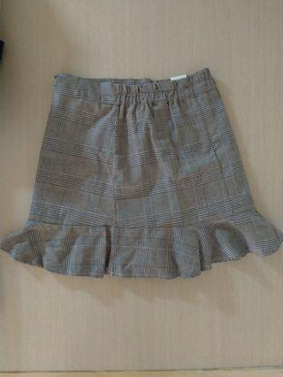 Gogosing 細千鳥格紋短裙