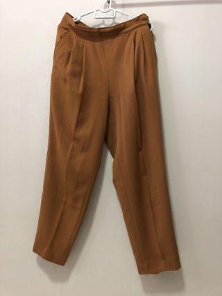 Smart Pants Camel Brown