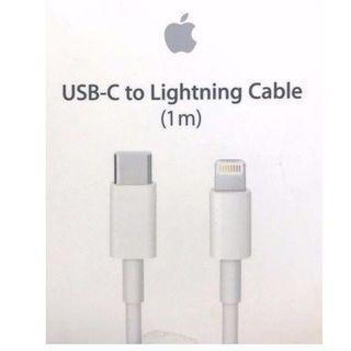 Original USB C to Lightning Cable 1M (With Apple Warranty)