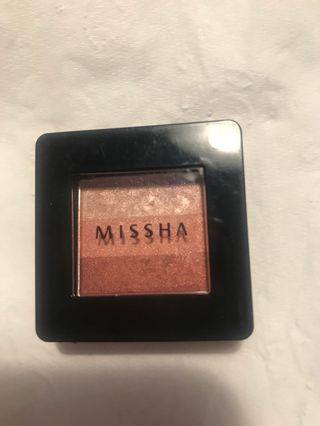 Missha eyeshadow autumn