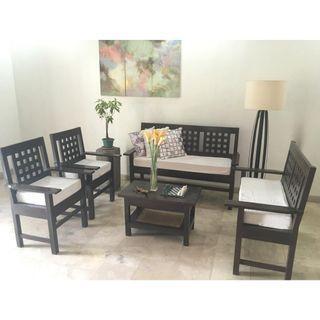 Wooden Sala Set