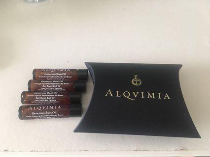 Alqvimia Bust Beauty oil 2.5ml X4