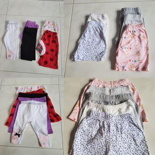 Baby/Toddler 10pc Shorts & Pants bundle 3m, 6m onwards
