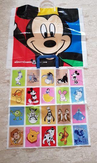Disney plastic bags