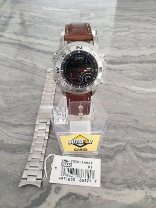 🚚 Casio Hunting Timer AMW-705 Mint for sale