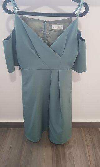 Neonmello off shoulder dress