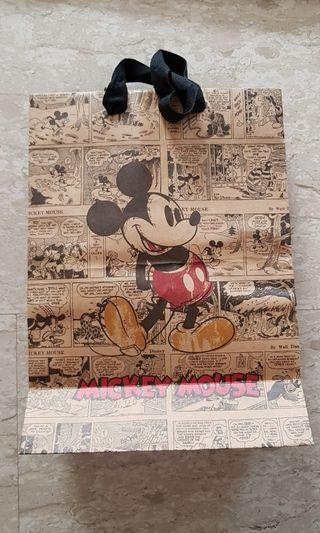 Walt disney paper bag