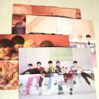 BTS MAP OF THE SOUL POSTERS