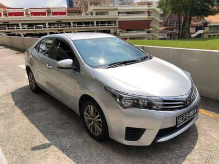 New Toyota Altis for Grab
