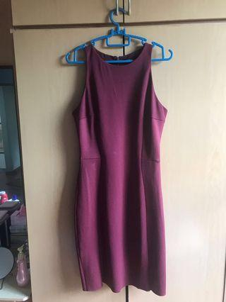 Mango Suit Formal Sleeveless Dress