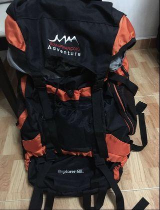 Jean Francois adventure hiking bag 60L