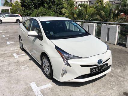 Toyota Prius Hybrid for rental