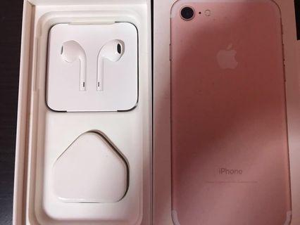 🚚 Iphone7 128gb Rose gold used