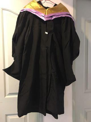 NTU Masters (Computer Science) convocation gown