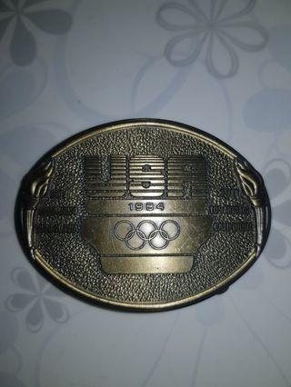 Olympic usa 1984 belt buckle