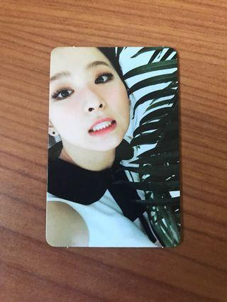 Red Velvet Seulgi The Velvet Official Photocard