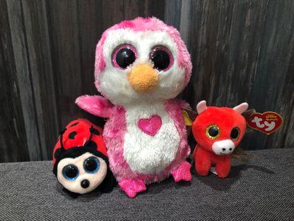 [Bundle deal] TY beanie boos