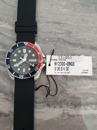 🚚 Citizen Promaster Diver NY2300-09GB