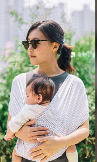 Konny Baby Carrier XL in grid colour