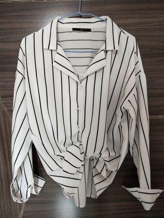 🚚 QS直紋襯衫