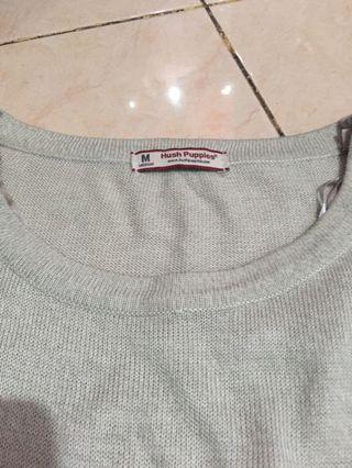 sweater hush puppies