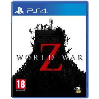[NEW NOT USED] PS4 WORLD WAR Z Koch Media Shooting Games
