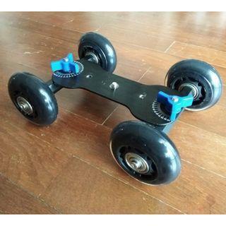 Table Top Dolly Mini Car Skater Track Slider