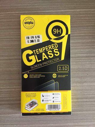 iPhone Tempered Glass and Casing