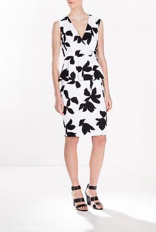BRAND NEW Trenery Floral Peplum Dress RRP$249