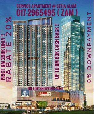 FREEHOLD CONDO @ SETIA ALAM ( On Top Shopping Mall )