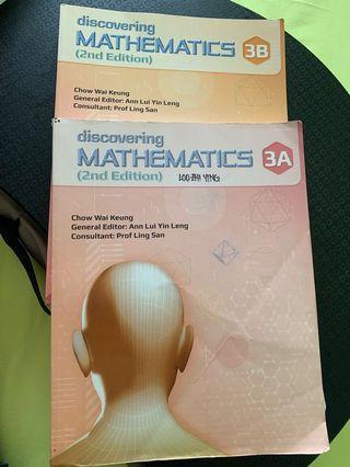 Discovering Mathematics 3A/3B
