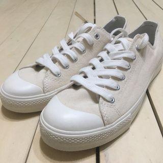 無印良品 MUJI 休閒鞋 帆布鞋 撥水加工 原色