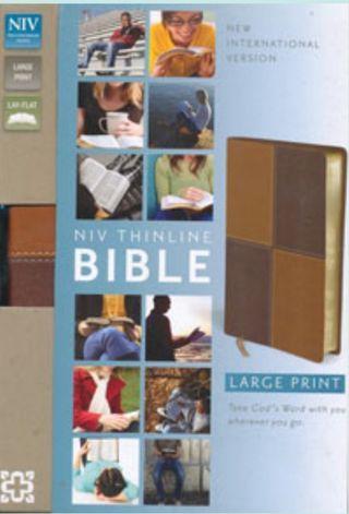 Almost New NIV Large Print Bible