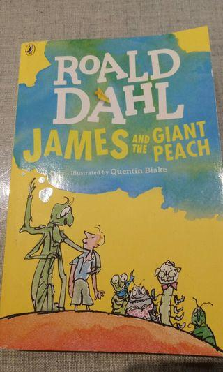 🚚 Told Dave James and the giant peach台中女中寒假必讀英文小說