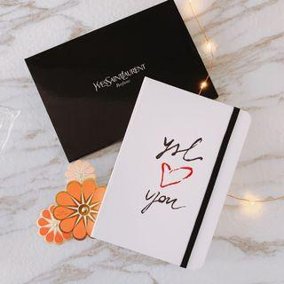 $30 Ysl love you notebook 記事薄一本 ✨✨✨✨✨