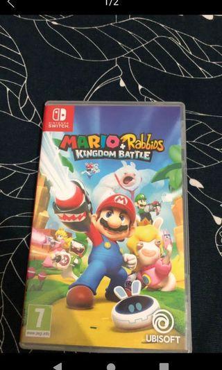 Switch Mario 瘋狂兔子