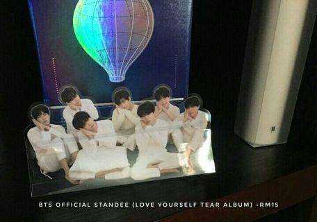 Bts Official standee love yourself tear album