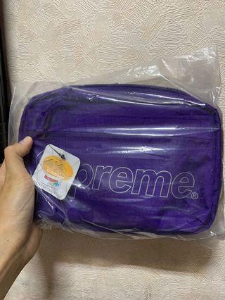 Supreme 45th 紫肩包