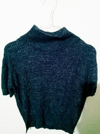 Knit Top Turtleneck