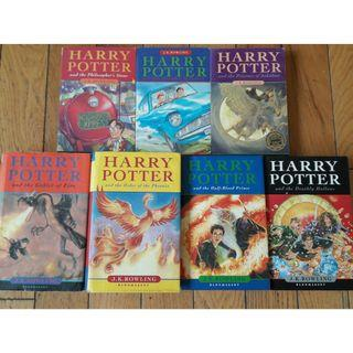 - IN STOCK - Harry Potter book set by J.K. Rowling