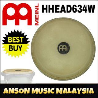 "Meinl HHEAD634W Rawhide Bongo Drum Head for HB100, 6 3/4"""