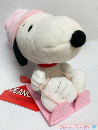 大減價 正品 Namco Snoopy公仔 雪橇造型 史露比公仔 吊飾 精品 花生漫畫