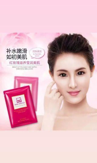 Rose essence mask