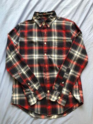 A&F Abercrombie & Fitch check shirt