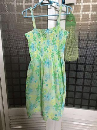 Benetton dress age 4 100% new